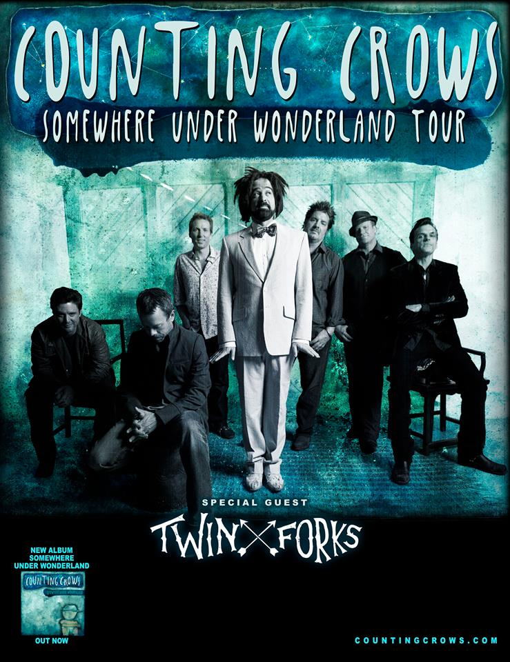 Canadian Tour Supporting Counting Crows Dine Alone Records