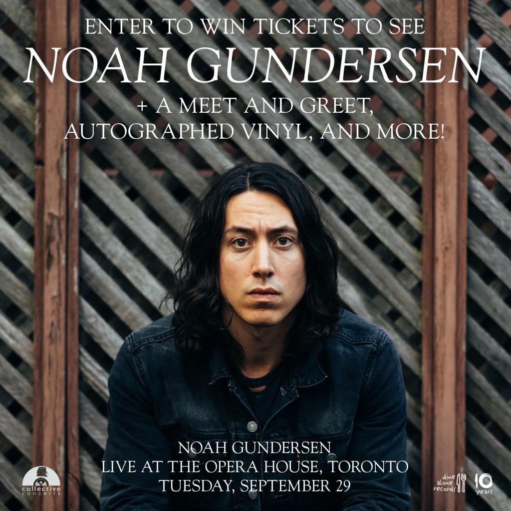 Noah Gundersen Contest