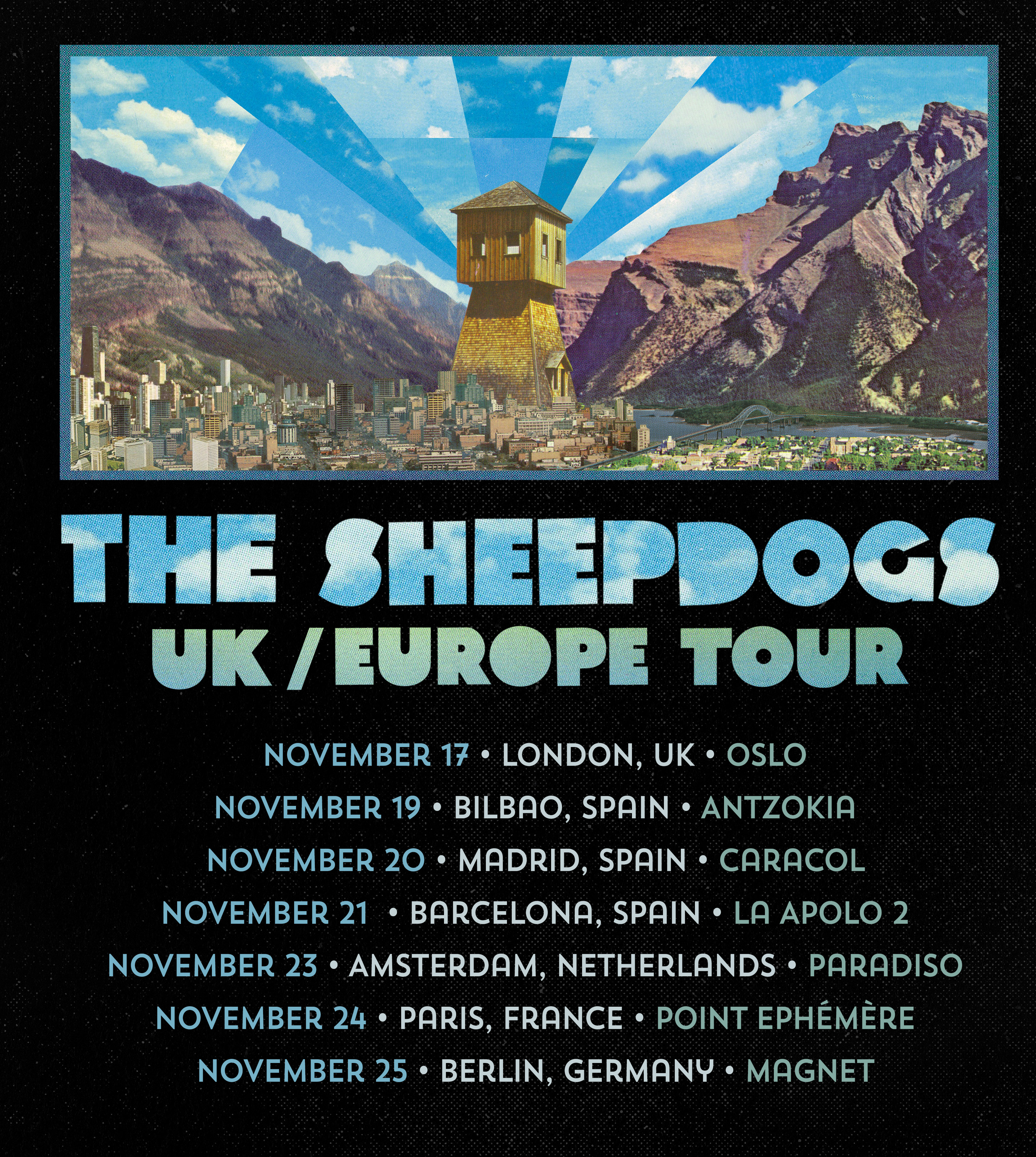 Sheepdogs Tour Dates