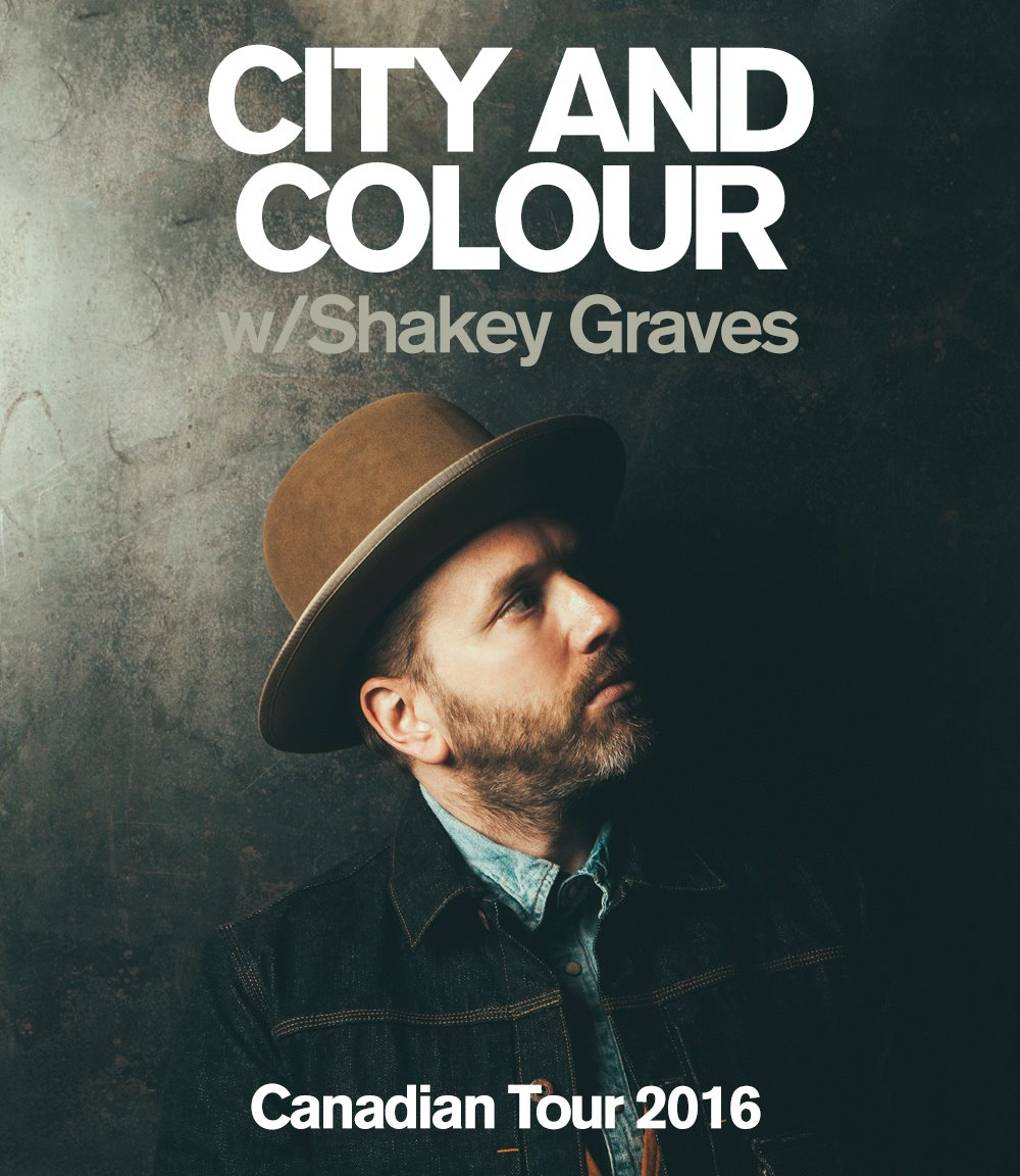 city and colour announces canadian tour dine alone records. Black Bedroom Furniture Sets. Home Design Ideas